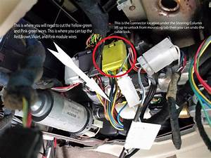 Installing One-touch Turn Signal Module