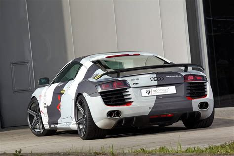 audi r8 wrapped camo wrapped audi r8 by mbdesign gtspirit
