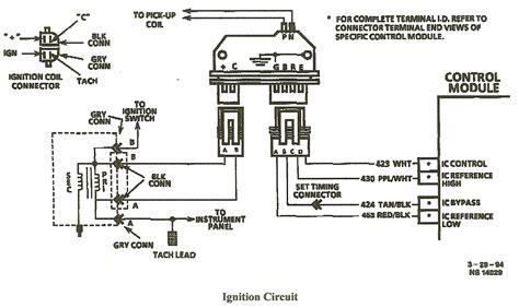 Gm Hei Module Wiring by Chevy Hei Coil Wiring Diagram Imageresizertool