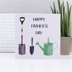 gardening fathers day card by olivia morgan ltd ...