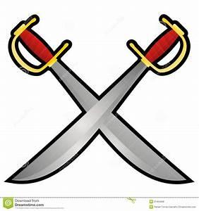 Pirate Swords Royalty Free Stock Photos - Image: 21404568