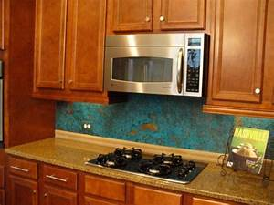 copper backsplash dream kitchen pinterest With kitchen colors with white cabinets with hunter s thompson sticker