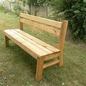 Mobilier Jardin Bois : mobilier de jardin bancs en bois ~ Premium-room.com Idées de Décoration