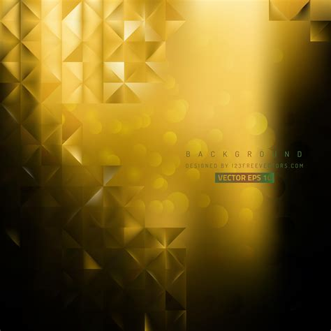 Abstract Black And Yellow Design by Abstract Black Yellow Background Design