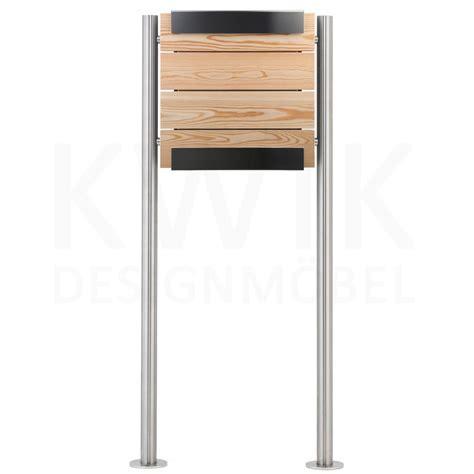 Stand Briefkasten. Affordable Serafini Design Edelstahl