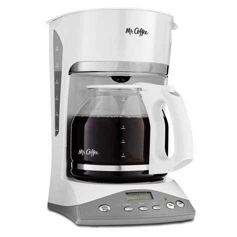 Has been added to your cart. Mr. Coffee® Advanced Brew 12-Cup Programmable Coffee Maker White, SKX20-RB