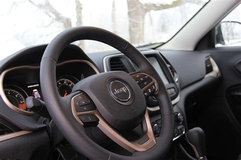 jeep xj steering wheel six notes on driving a 2015 jeep cherokee in the dead of