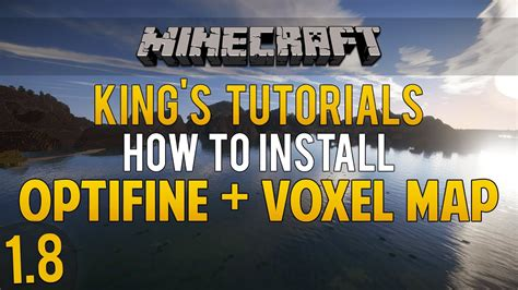 minecraft    install optifine mod voxel map mod