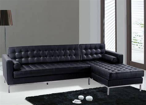 contemporary black leather sofa modern black leather furniture couch sofa ideas