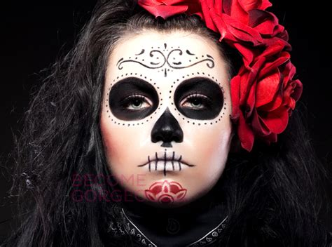 Sugar Skull Makeup For Halloween