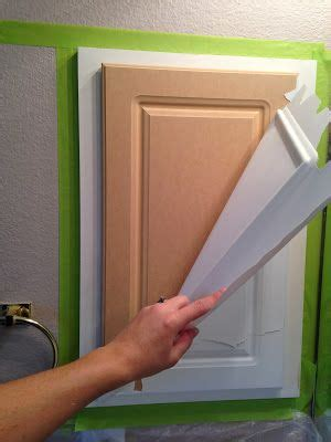 Laminate Cupboards Peeling by The Ragged Wren Painting Laminated Cabinets For The