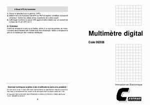 Utilisation D Un Multimètre Digital : le schema un notice manuel d 39 utilisation ~ Gottalentnigeria.com Avis de Voitures