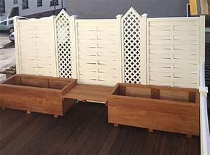 Pflanzkästen Aus Holz : sichtschutz sichtblenden zaun serien und tore aus holz wpc kunststoff und metall ~ Orissabook.com Haus und Dekorationen
