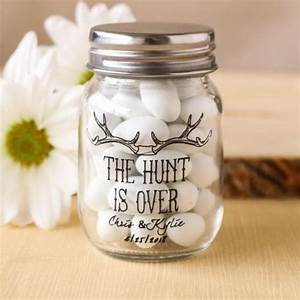 mini mason jars favors and mason jars on pinterest With beau coup wedding shower favors