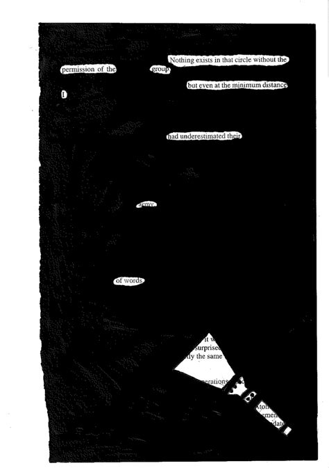 Blackout Poetry | english@cc