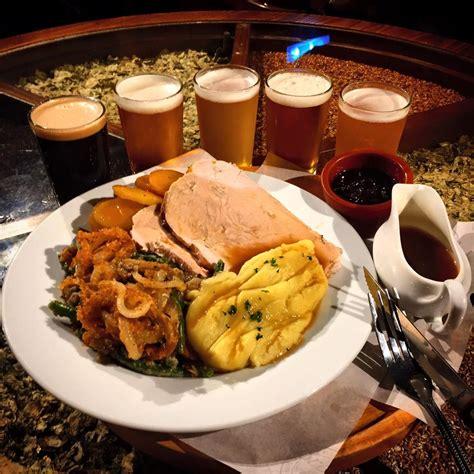 thanksgiving dinner american craft beer tasting