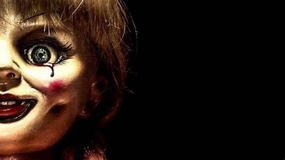 Annabelle Wallpapers Horror Series Behind Poster Scenes