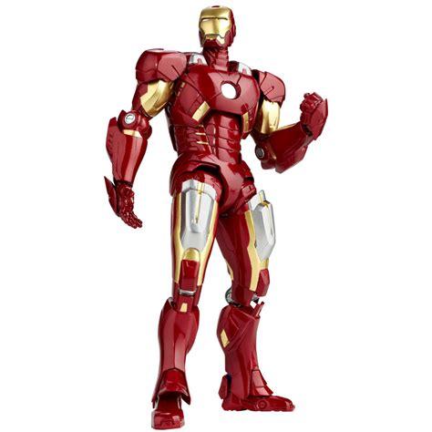 Revoltech Avengers Movie Iron Man Mark Vii  The Toyark News
