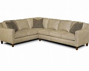 sectional sofa in leather upholstery yorba sectional With yorba sectional sofa