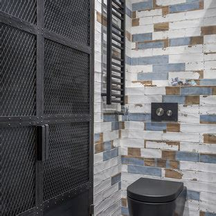 popular industrial powder room design ideas