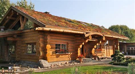Blockhaus, Kanada, Naturstammhaus, Bauen  Für Micha