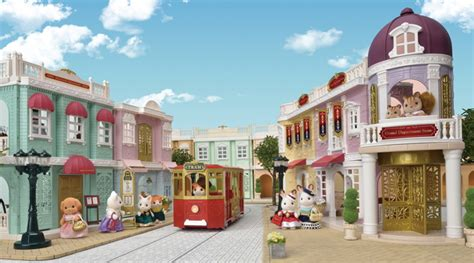 Grand Department Store Gift Set  Sylvanian Families