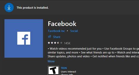 FIX: Facebook app not working in Windows 10