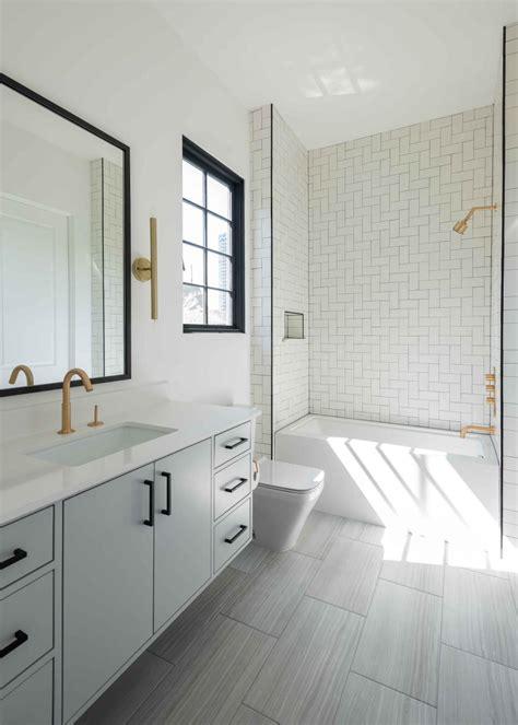 bright white bathroom  contemporary sophisticated hgtv