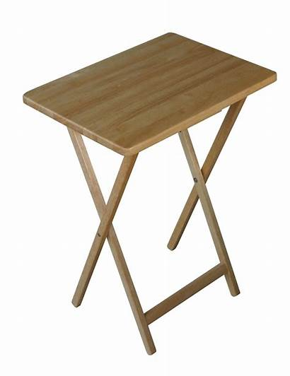 Tray Folding Wooden Natural Trays Wood Tables