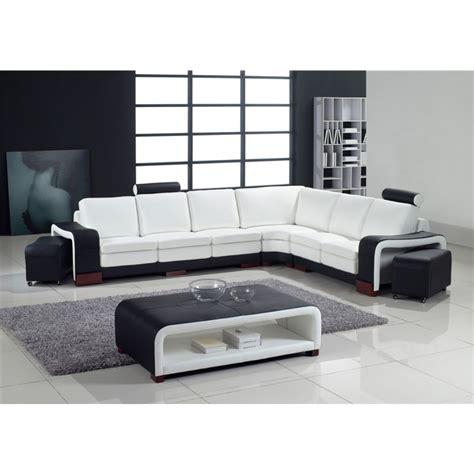 grand canapé lit grand canapé d 39 angle en cuir pleine fleur fabio option