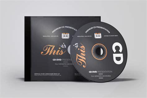 cddvd album mock   product mockups creative market