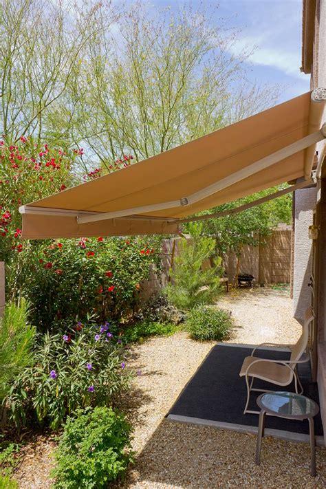 medium folding arm awning photo creative shade solutions north lakes qld