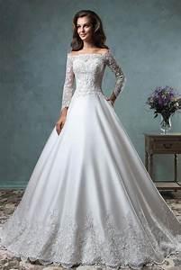 vestido de noiva elegant boat neck ball gown wedding With ball gown wedding dresses 2016