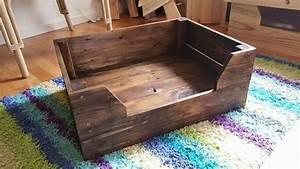 easy to make pallet dog bed pallet furniture diy With easy to make furniture ideas