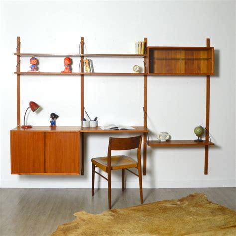 bibliothèque bureau modulable poul cadovius