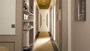 la deco couloir des astuces pour une ambiance agreable With lovely couleur pour un couloir 2 idees deco pour une entree