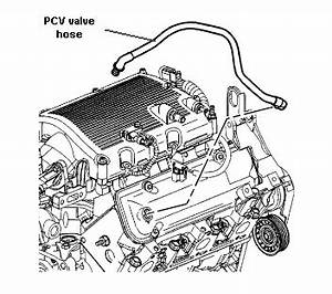 where is the pcv valve and hose on a 2005 saturn relay With saturn egr valve location