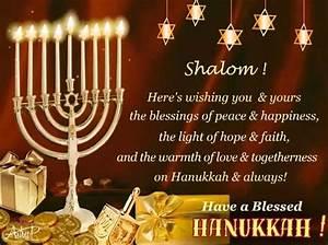 blessed hanukkah greetings free religious blessings