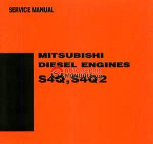 Mitsubishi Diesel Engine S4q  S4q2 Service Manual