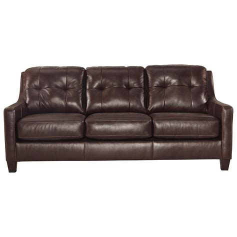 value city furniture sleeper sofa signature design by ashley o 39 kean contemporary leather