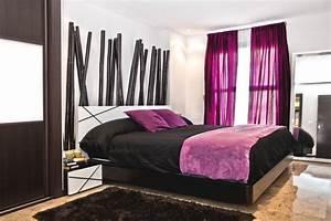 Bedroom, D, U00e9cor, In, Purple
