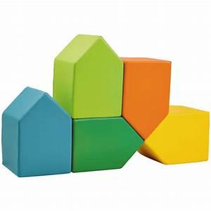 Schaumstoff Bausteine Kinderzimmer : kinder schaumstoff bausteine 5 st ck bausteine matten ~ Watch28wear.com Haus und Dekorationen