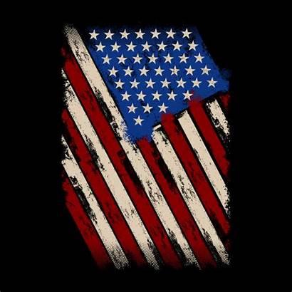 Flag American Distress Distressed Drapeau Premium Achtergrond
