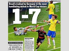 Brazil's 17 humiliation at the hands of lethal Germany