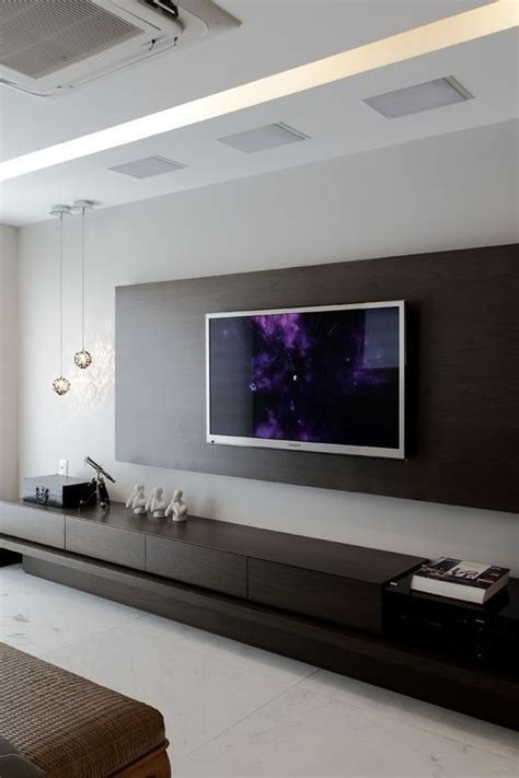 Tv Paneel Wand by Best 25 Tv Wall Design Ideas On