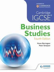 Cambridge Igcse Business Studies 4th Edition  Ebook