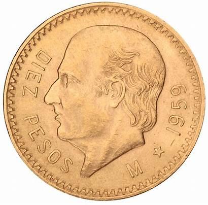 Mexican Pesos Coins Peso Mexico