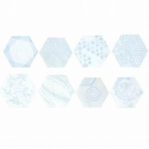 Carrelage Mural Hexagonal : carrelage mural hexagonal en gr s fin maill melograno ornamenta david b ~ Carolinahurricanesstore.com Idées de Décoration