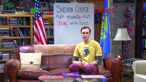 big bang theory fun  flags   levar burton