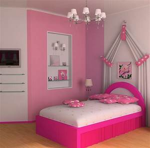 Decorating your home wall decor with cool modern girls for Girls modern bedroom furniture